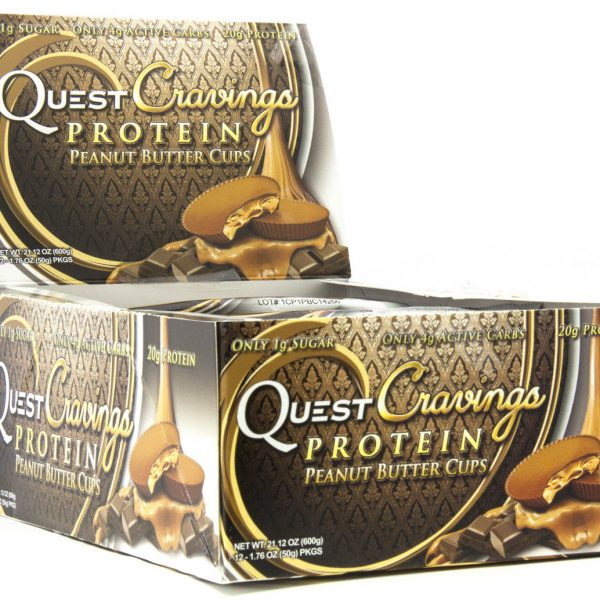 Quest Cravings Peanut Butter Cup - 12x50g