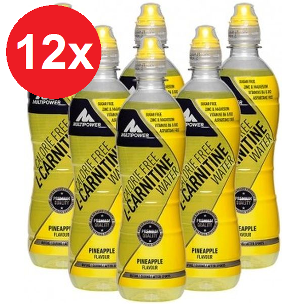 Multipower L-Carnitine Drink - 12x500ml