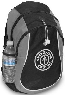 Golds Gym Roamer Two-Tone Backpack - black