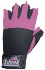 Schiek Sports Frauenfitnesshandschuhe Model 520 - pink