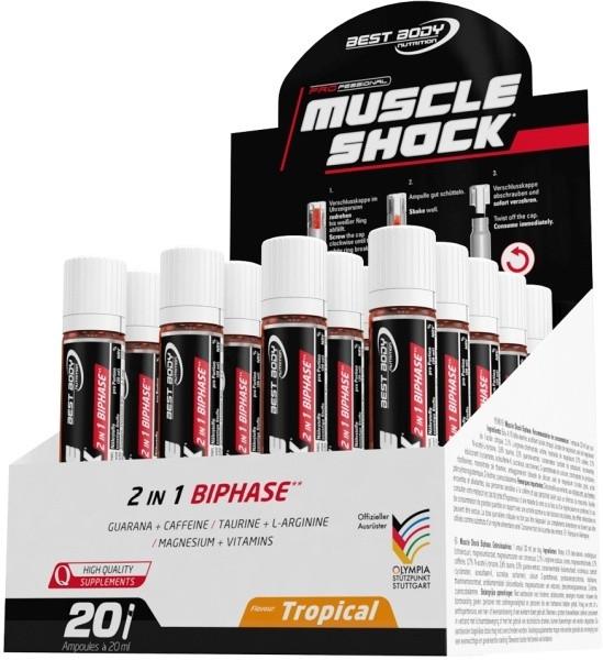 Best Body Nutrition Muscle Shock - 20 Trinkampullen