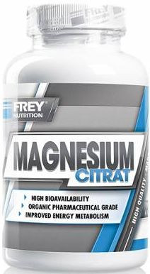 Frey Nutrition Magnesium Citrat - 120 Kapseln