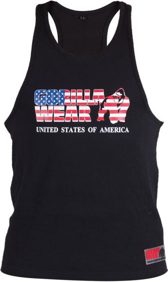 Gorilla Wear USA Tank Top - schwarz