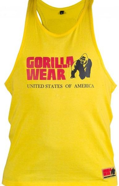 Gorilla Wear Classic Tank Top - gelb