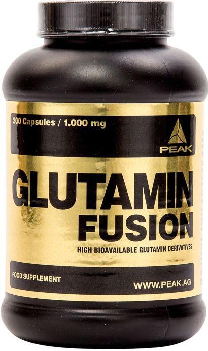 Peak Glutamine Fusion - 200 Kapseln