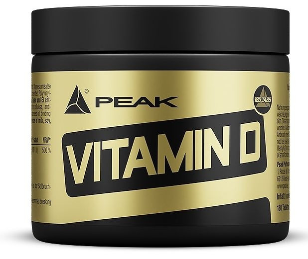 Peak Vitamin D - 180 Tabletten