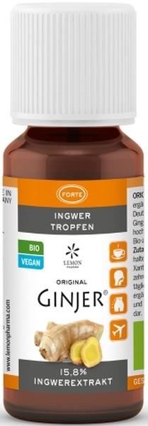 Bio Ingwertropfen GINJER® forte - 20ml