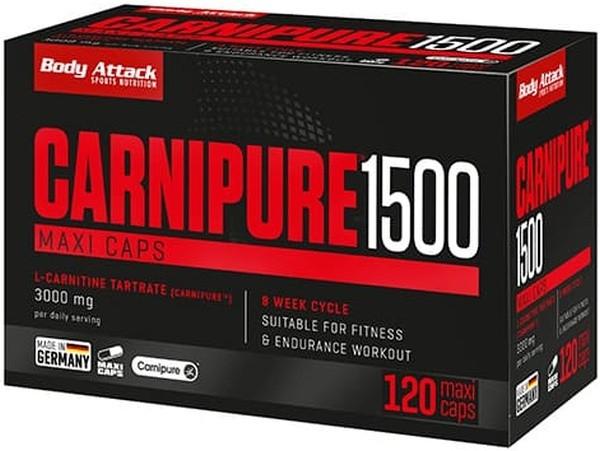 Body Attack Carnipure 1500 - 120 Maxi Caps