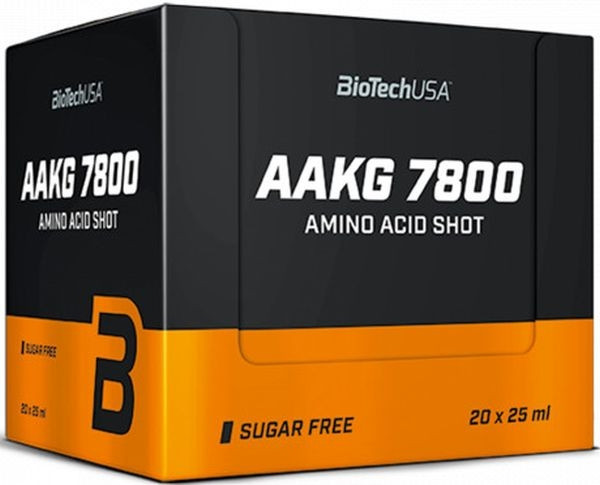 BioTechUSA AAKG 7800 Shot - 20x 25 ml