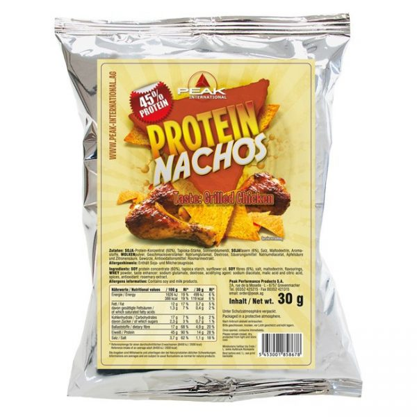 Peak Protein Nachos Grilled Chicken 30g Beutel