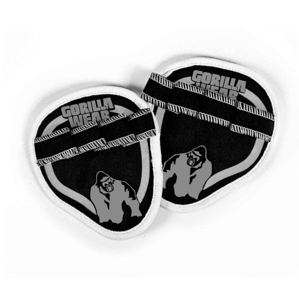 Gorilla Wear Palm Grip Pads - Black/Grey