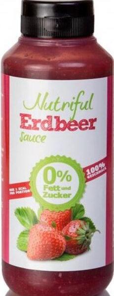 Nutriful Erdbeer Sauce - 265 ml