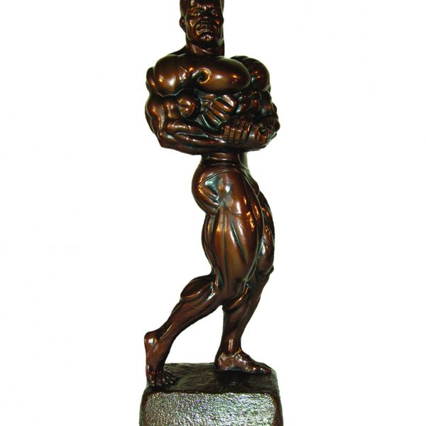 Bodybuilding Figur Man - Side Chest Arnold 44 cm