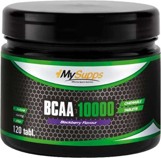 My Supps BCAA 10000 - 120 Kautabletten