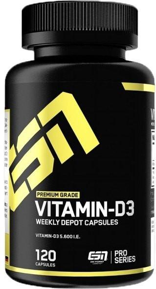 ESN Vitamin D3 - 120 Kapseln