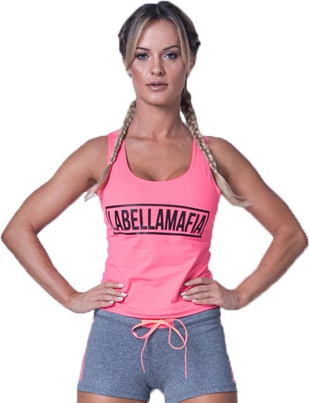 Labellamafia Fitness Tank Top Classic Pink