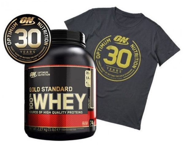 ON 100% Whey Gold Standard 30 Jahre Edition - 2270g