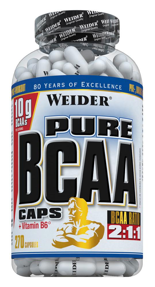 Weider Pure BCAA - 270 Kapseln