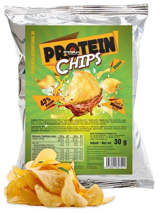 Peak Protein Chips - Salt Vinegar