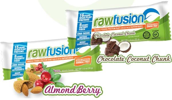 SAN RAW FUSION Vegan Protein Bar - 1 Riegel