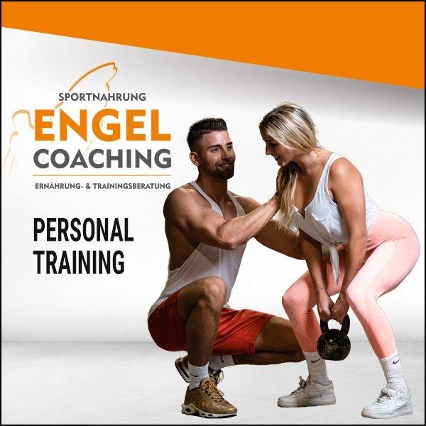Personal Training mit Sportnahrung-Engel