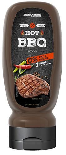 Body Attack Hot BBQ Sauce - 320ml