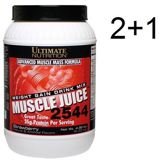 Ultimate Nutrition Muscle Juice 2250g - 2+1 Aktion (Gesamtmenge = 6750g)