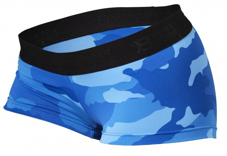Better Bodies Fitness Hotpant - Blue Camo