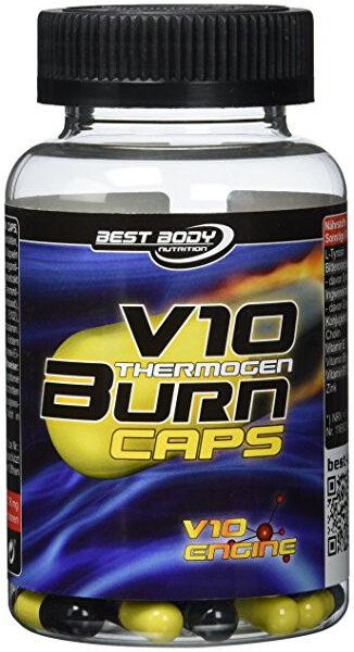 Best Body Nutrition V10 Thermogen Burn - 100 Kapseln