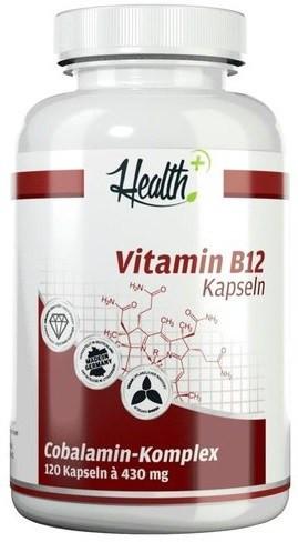 Health+ Vitamin B12 - 120 Kapseln