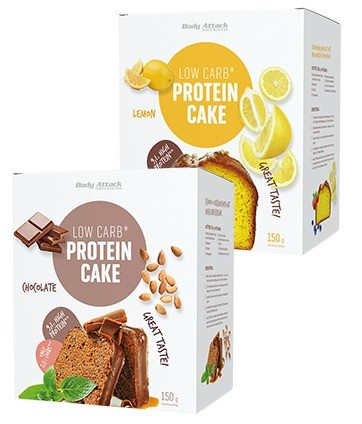 Body Attack Low-Carb Kuchen