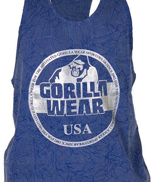 Gorilla Wear Mill Valley Tank Top - Royal Blue