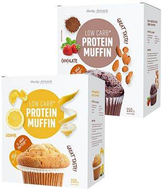 Body Attack Low Carb Protein Muffin
