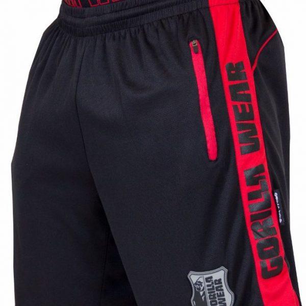 Gorilla Wear Shelby Shorts - Black/Red