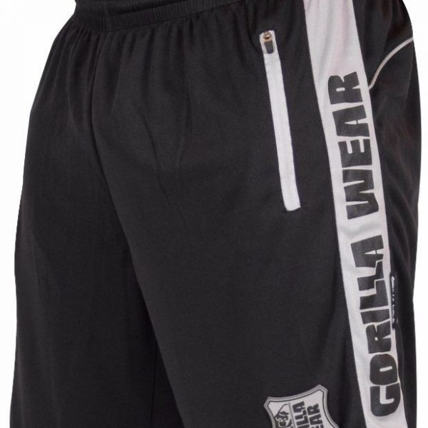 Gorilla Wear Shelby Shorts - Black/Gray