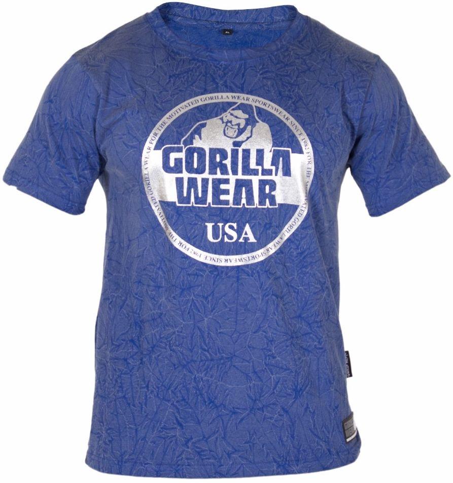 Gorilla Wear Rocklin T-Shirt - Royal Blue