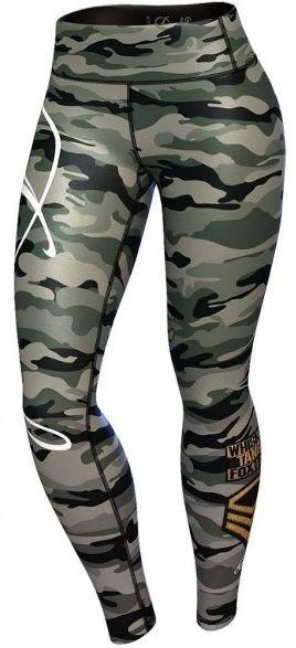 Anarchy Apparel Commando Leggings - green