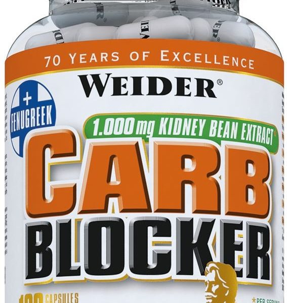 Weider Carb Blocker - 120 Kapseln