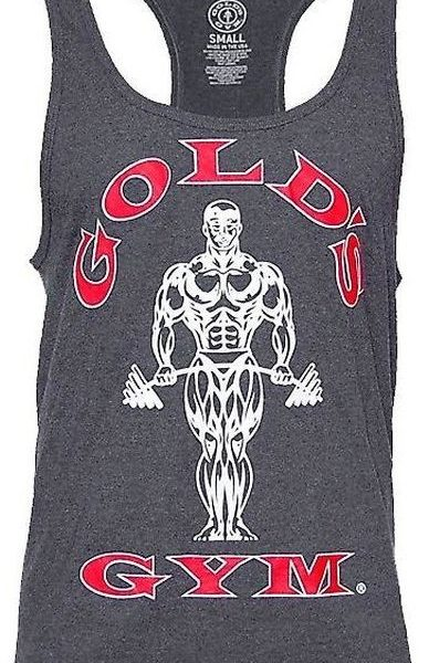 Golds Gym Classic Stringer Tank Top - charcoal