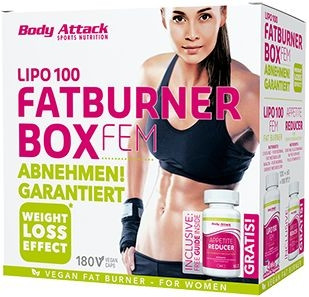 Body Attack Fatburner Box - FEM