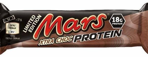 Mars Protein Bar Xtra Choc - 57 g
