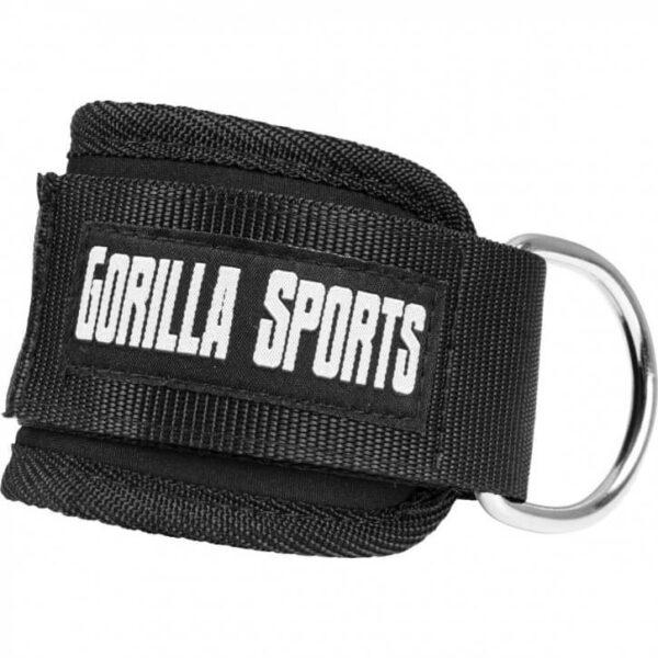 Gorilla Sports Fußschlaufe aus Nylon mit Polsterung