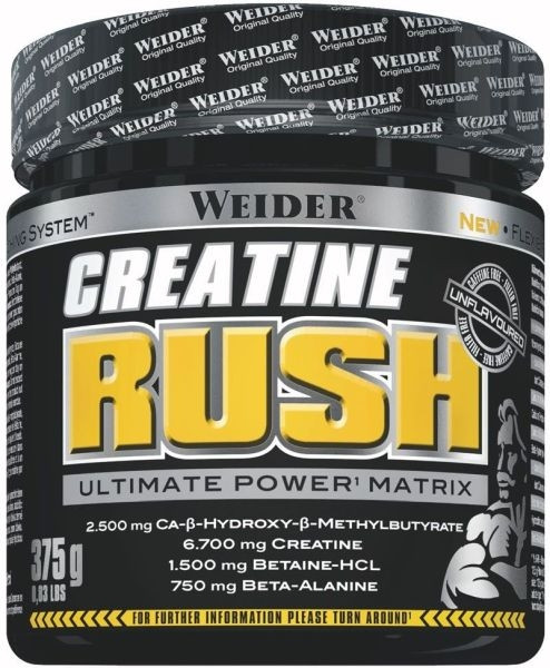 Weider Creatine Rush - 375g