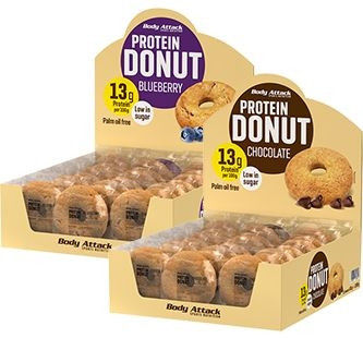 Body Attack Protein Donuts - 21x60g