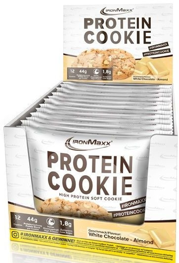 Ironmaxx Protein Cookies - 12x 75 g
