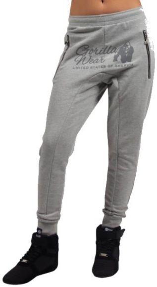 Gorilla Wear Celina Drop Crotch Joggers - Grau