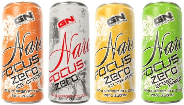 GN Narc Focus Zero - 250 ml Drink