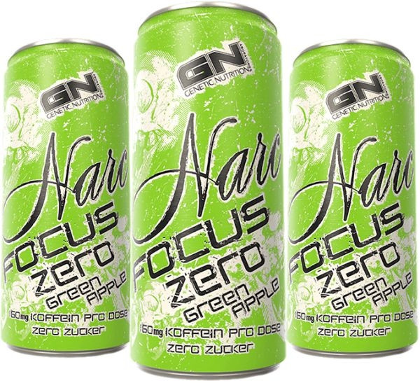GN Narc Focus Zero - 24x 250 ml Drink