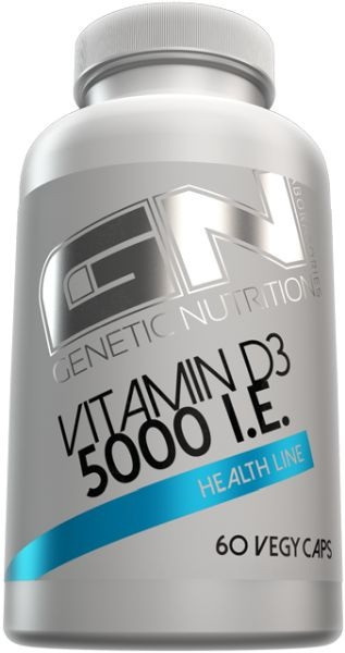 GN Vitamin D3 5000IE - 60 Vegy Caps
