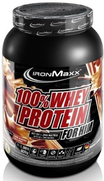 Ironmaxx 100% Whey Protein For Him - 900g